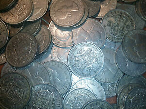 100 half crowns large coins bulk lot 100 coins big lot - <span itemprop=availableAtOrFrom>Tintagel, United Kingdom</span> - if not over the moon with your item send it back, at your cost these are wonderfull coins . I sell all over the world!*!*! if you need a coin ask and i will try and include it for you, i - Tintagel, United Kingdom