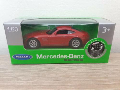52306-1:64 1//64 1:60 1//60 No Welly NEX Mercedes-Benz SLS AMG Red