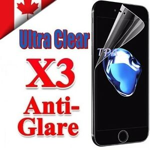 3X Clear & Anti Glare Matte Screen Protector Film For Apple iPhone 8 Plus