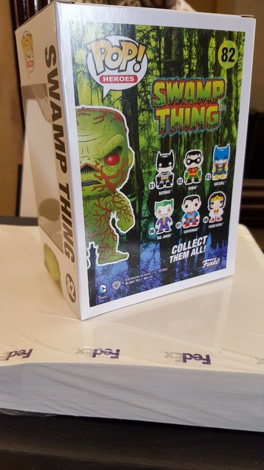 SDCC 2016 2016 2016 EXCLUSIVE FUNKO POP SWAMP THING SCENTED VINYL FIGURE NIB CON IN HAND 9743d2