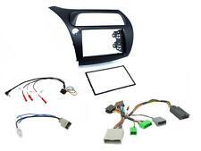 CTKHD01L Honda Civic 06-11 Double Din Car Stereo Fitting Kit stalk control LHD