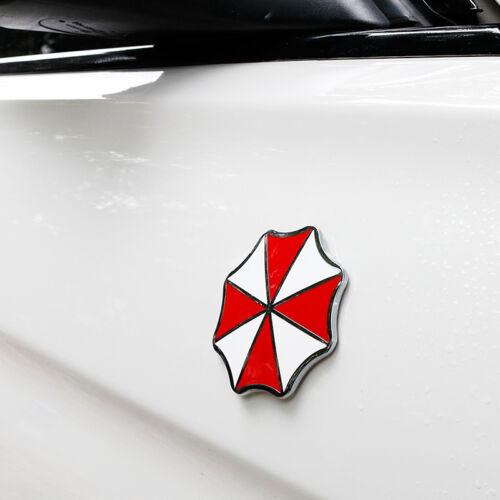 Umbrella Corporation Logo Resident Evil Car Auto Badge Emblem Sticker