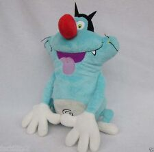 """NEW Oggy and The Cockroaches on Cardboard plush toys doll 10"""""""