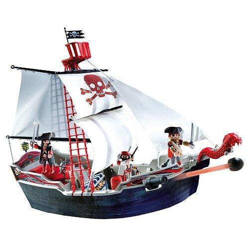 Playmobil 5950 Skull Bones Pirate Ship