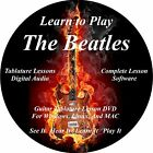 The Beatles Guitar TABS Lesson CD 268 Songs + 82 Backing Tracks + BONUS!