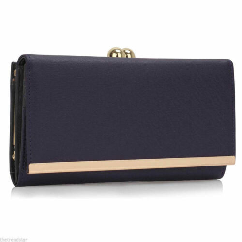 Women/'s Fashion Designer Purses Ladies High Quality Faux Leather Wallet Coin Bag