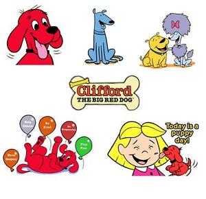 Clifford-the-Big-Red-Dog-1-shirt-Iron-on-transfer-8x10