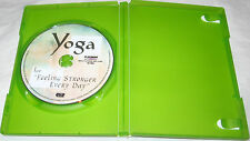 Yoga For Feeling Stronger Every Day DVD, 2003 Physical Fitness FREE SHIP U.S.A.