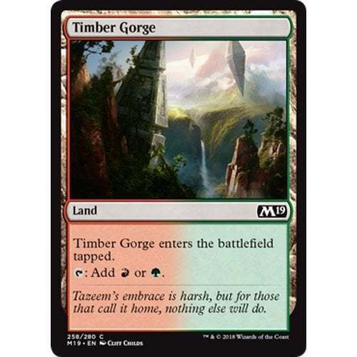 Timber Gorge MTG Core Set 2019