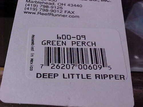 Reef Runner Deep Little Ripper 600-09 For Walleye//Salmon//Trout//Bass NIP