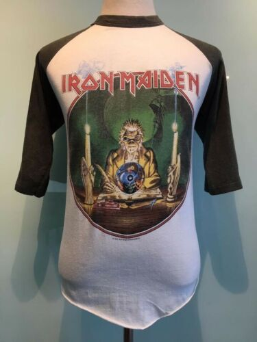 Vintage Iron Maiden Tour1988 T Shirt Size L Authen