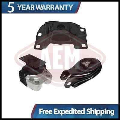 Transmission Motor Mounts Front Rear Set Kit 2.0 2.3 L For Mazda 3