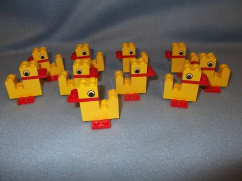 1 petit canard Lego X 10 graves jouer canards 2ND photo