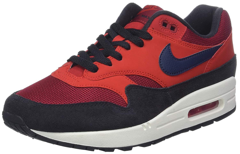 Nike Air Max 1 Red Crush Midnight Navy (AH8145 600)