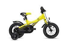 Kinderrad S'cool XXlite 12 Zoll yellow black Stützräder 2017 | ab 3 Jahre | 3026