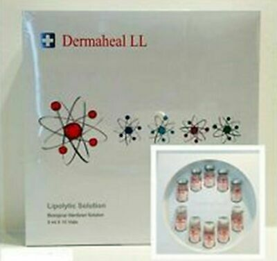 Pleasant In After-Taste Lipolytic 100% Quality Set Dermaheal Ll Solution Enhances Skin Collagen Elasticity 5 Ml
