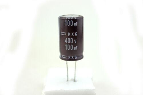 Amp part Rubycon Electrolytic Capacitor 100uF 400V KXG - condensateur X1