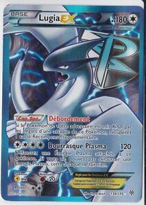 66//135 Miasmax holo-n/&b French designer card pokemon plasma storm