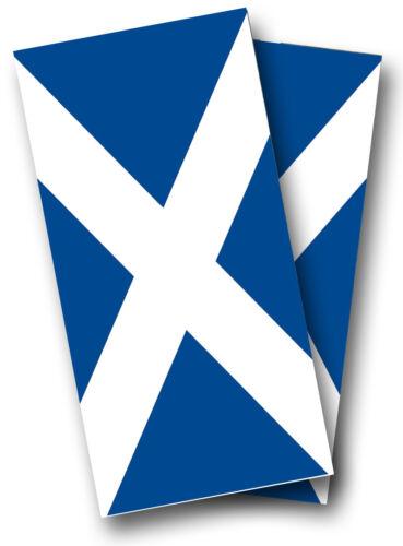 SCOTTISH SCOTLAND FLAG CORNHOLE WRAP SET Quality Vinyl Board DECAL w// Squeegee