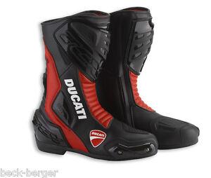 best service 56ab2 2860d Details zu DUCATI TCX Sport ´13 Racing Stiefel Schuhe Boots Shoes schwarz  rot NEU !!