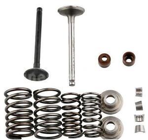 Honda-70cc-Valve-Rebuild-Kit-Intake-Exhaust-Valves-Springs-CT70-Trail-70-S65