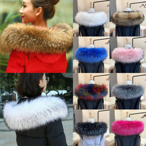Warmer-Coat-Fur-Collar-Lady-Fur-Collar-Faux-Raccoon-Hooded-Jacket-Fur-Decor