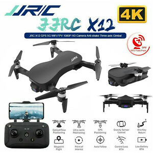 JJRC X12 3Axis Gimble GPS Drone with WiFi FPV 4K...