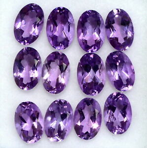 NATURAL-PURPLE-AMETHYST-6X4-MM-OVAL-CUT-FACETED-LOOSE-AAA-GEMSTONE-LOT