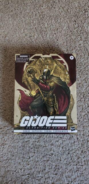 "GI Joe Classified Series 6"" Snake Supreme Cobra Commander Pulse Con Exclusive 🔥"