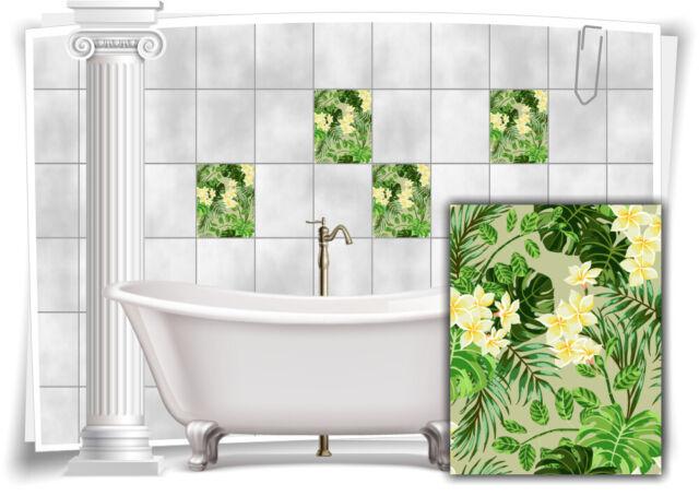 Fliesenaufkleber Fliesenbild Fliesen Aufkleber Kachel Badezimmer Bad Küche Deko