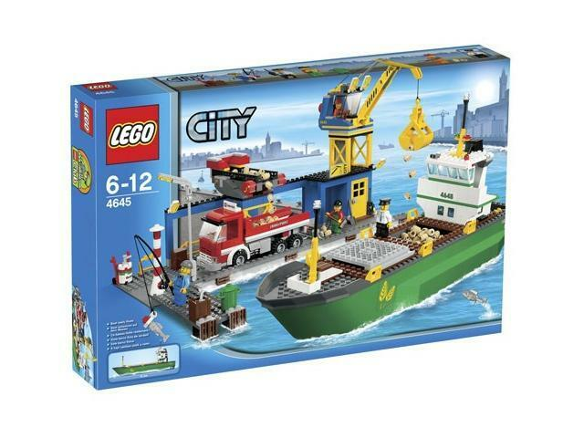 Lego Town Città 4645 Porto Nuovo Imballato