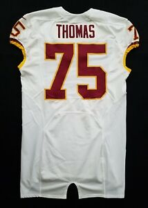 #75 Thomas of Washington Redskins NFL Locker Room Game Issued Jersey