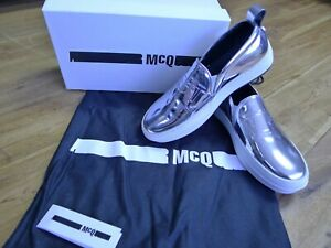On argento Size Dust Slip Uk Fields metallizzato Sneakers Mcqueen Box 6 Alexander Bag R1XwSqHxR