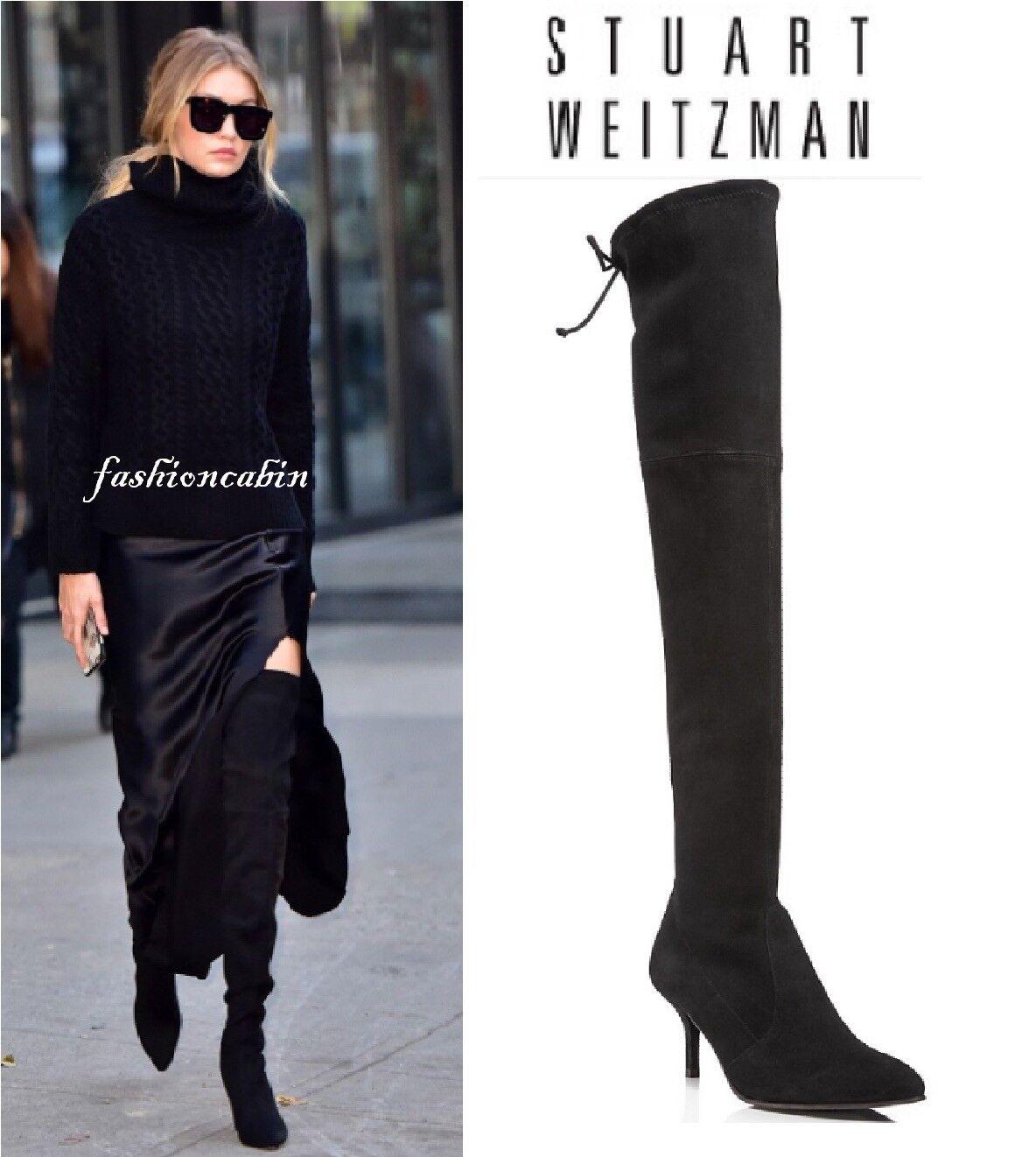 Stuart Weitzman The Tiemodel Over The Knee Boot Black Size 10