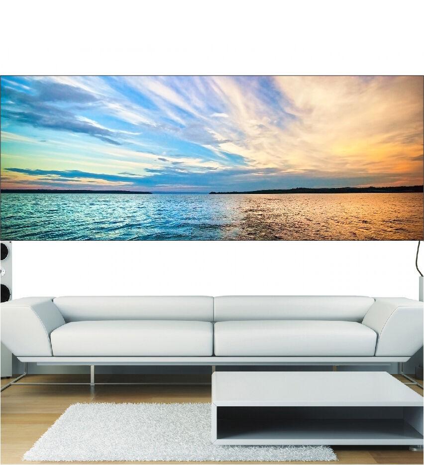 Aufkleber Panorama Deko Meer Himmel 9109 (13 Größe)