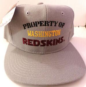 Property-of-Washington-Redskins-1980s-New-Era-Cap-Unworn-NOS-Licensed