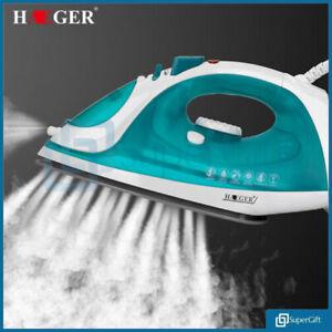 HAEGER-Steam-Iron-Ceramic-Soleplate-2200W-Corded-Non-Stick