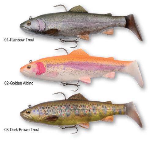 Savage Gear 4D Trout Rattle Shad 17cm 80g verschiedene Farben Raubfisch
