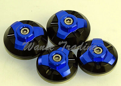 Frame Hole Cap Cover Plug Low & Up For KAWASAKI Ninja 250 250R 300 ZX250 ZX300R