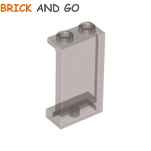 2 Lego® Mitarbeiter Klammer//Spange für Namesschild trans grün Selten Neu