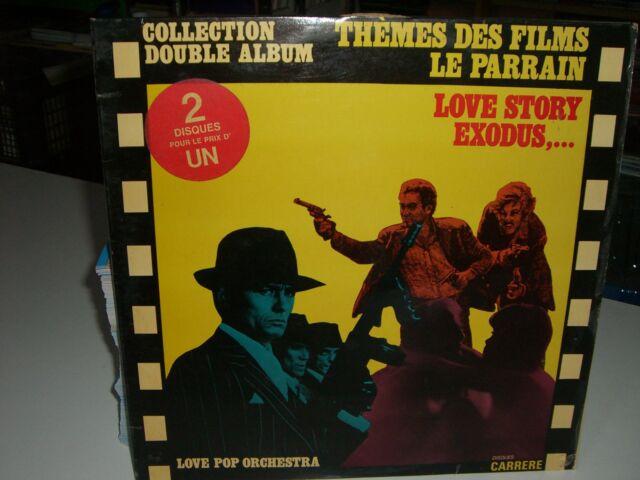2 33 TOURS / LP BOF/OST-THEMES DES FILMS-LE PARRAIN/LOVE STORY/EXODUS/BORSALINO