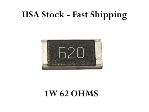 68 Ohm Chip SMD Resistor 68R 1W 5/% 2512 Toyota Tacoma Ford F150 Explorer 680