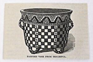 small-1883-magazine-engraving-PAINTED-VASE-FROM-TENAMPUA-Honduras