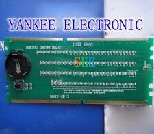 Desktop Motherboard DDR2 DDR3 RAM Memorry Slot Tester with LED