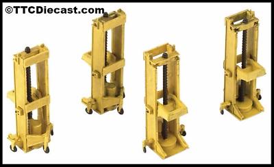 44-501 Scenecraft OO Gauge Commercial Lid Skips x4