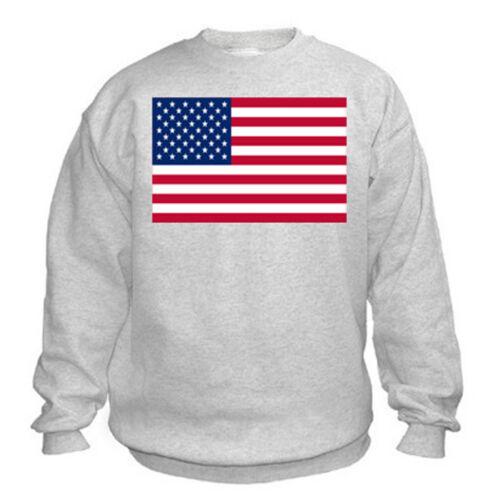 FLAGS Sweatshirt American Flag USA Choice of size /& colours.
