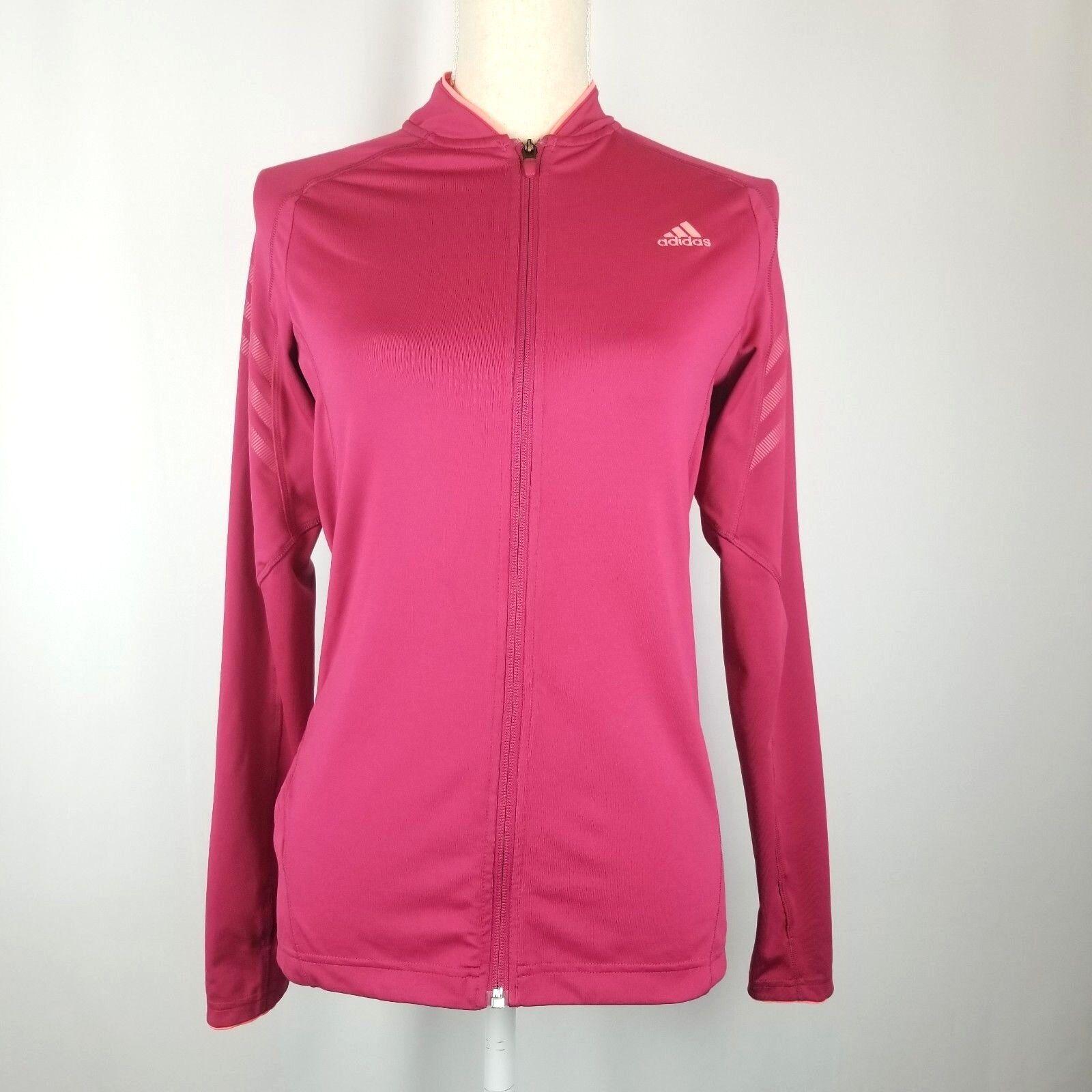 Adidas Climalite Womens Running Supernova Rózsaszín Jacket Zip cipő teljes méret