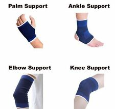 Combo Set Of Ankle + Knee + Elbow + Palm Support For  Gym Exercise Grip