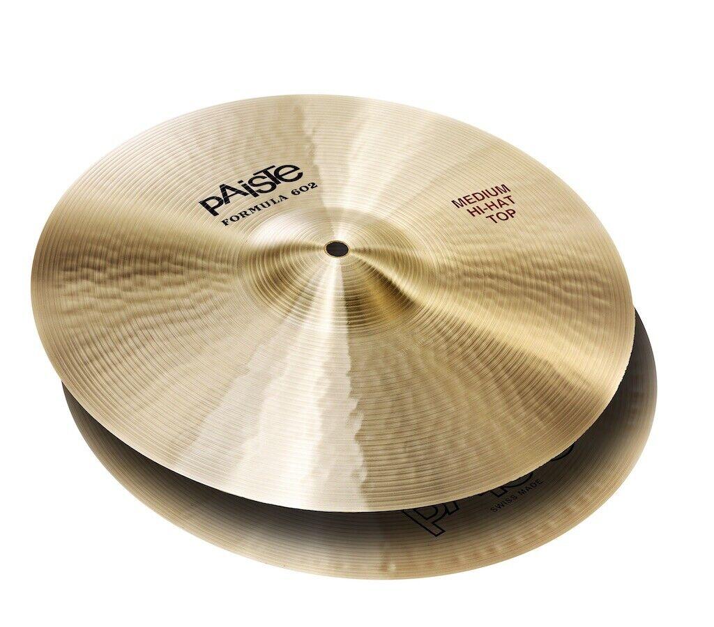 Paiste Formula 602 Medium Hi Hat Cymbals 15  - Video Demo