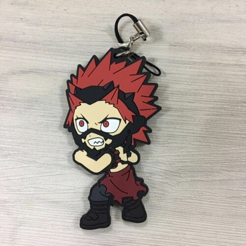 T1491 Anime Boku no Hero Academia rubber Keychain Key Ring Strap Rare cosplay  A